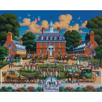 Dowdle Jigsaw Puzzle Williamsburg National Historic Park 500