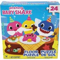 Cardinal Games 6054915 Baby Shark 24Pc Floor Puzzle Multi