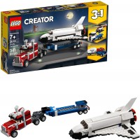 Lego Creator 3In1 Shuttle Transporter 31091 Building Kit 341