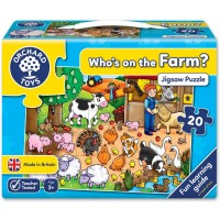 Whos On The Farm 20 Piece