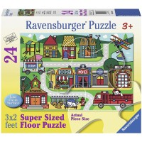 Ravensburger City Streets Floor Jigsaw Puzzle