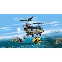 Lego City Deep Sea Explorers 60093 Helicopter Building
