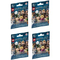 Lego Harry Potter Fantastic Beasts Minifigure Series Random Pack Of 4