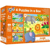 Galt Toys 4 Puzzles In A Boxjungle