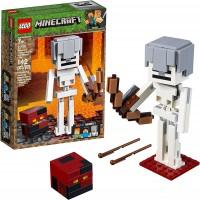 Lego Minecraft Bigfig Skeleton With Magma Cube Building Kit 142