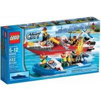 Lego City Set 60005 Fire