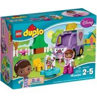Lego Duplo Brand Disney 10605 Doc Mcstuffins Rosie The Ambulance Building