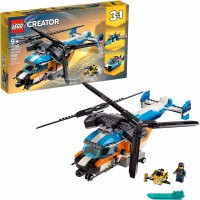 Lego Creator 3In1 Twin Rotor Helicopter 31096 Building Kit 569