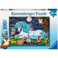 Ravensburger Enchanted Forest 100 Piece Jigsaw Puzzle Every Piece Is Unique Pieces Fit Together