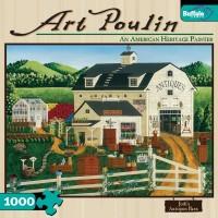 Buffalo Games Art Poulin Jodis Antiques Barn 1000 Piece Jigsaw