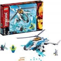 Lego Ninjago Shuricopter 70673 Kids Toy Helicopter Building Set With Ninja Minifigures And Toy