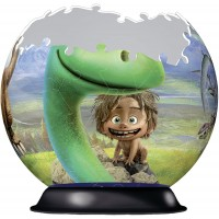 Ravensburger The Good Dinosaur 72 Piece 3D Jigsaw Puzzle Ball Easy Click Technology Means Pieces
