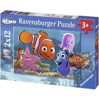Ravensburger Finding Nemo Jigsaw Puzzle 2 X 12