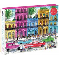 Galison Michael Storrings 1000 Piece Cuba Jigsaw Puzzle For Adults And Families Illustrated Art