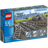 Lego City Switch Tracks 7895 Train Toy