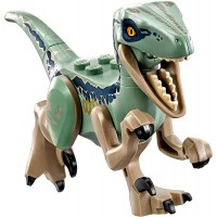 Lego Jurassic World Fallen Kingdom Dinosaur Raptor Blue
