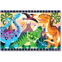 Melissa Doug Dinosaur Dawn Floor Puzzle 24 Pcs 2 x 3