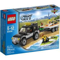 Lego City Great Vehicles 60058 Suv With