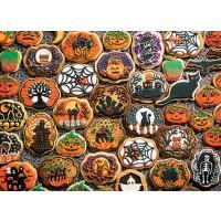 Cobblehill 54612 Multi 350 Halloween Cookies Puzzle