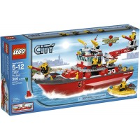 Lego City Fire Ship