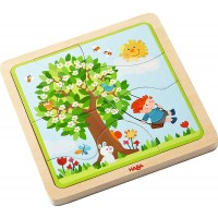 Haba 302529 My Time Of Year Wooden Puzzle
