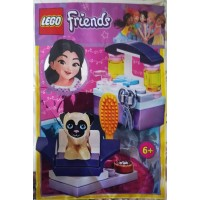 Lego Friends Promo Edition Dog Hairdresser Salon Foil