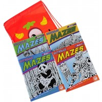 Deluxe Games And Puzzles Extreme Mazes Bundle Four 4 Books Volumes 1 2 3 4 Bonus Colorful Silly