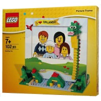 Lego Store Dragon I Love Orlando Picture Frame Build 102 Pieces