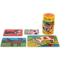 Jellycat Farm Tails 4 In 1 Puzzles For