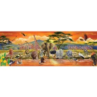 Melissa Doug Safari Floor Puzzle 100