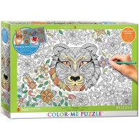 Eurographics Tiger Color Me Puzzle 500