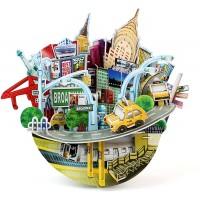 Daron New York Cityscape 3D Puzzle Bank