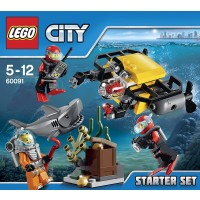Lego 60091 City Deep Sea Starter