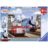 Ravensburger Thomas Friends Traveling With Thomas 35 Piece Jigsaw Puzzle Every Piece Is Unique