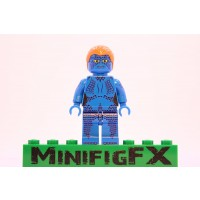 Lego Mystique Minifig Marvel Xmen Mutant Raven