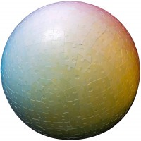 Clemens Habicht 540 Piece 3D Sphere Jigsaw Color