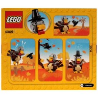 Lego Thanksgiving Turkey 40091 125