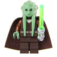 Lego Deluxe Minfig Made From Star Wars Kit Fisto Parts Torso