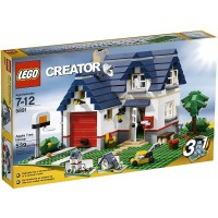 Lego Creator Apple Tree House 5891 539 Piece Set Discontinued By