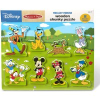 Melissa Doug Mickey Mouse Clubhouse Wooden Chunky