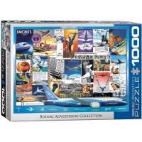 Eurographics Boeing Vintage Ads Collection Puzzle 1000