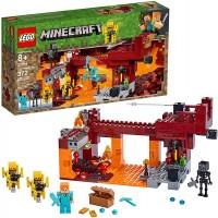 Lego Minecraft The Blaze Bridge 21154 Building Kit 372