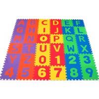 Nontoxic 36 Piece Abc Foam Mat Alphabet Number Puzzle Play Exercise Flooring Mat For Children