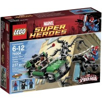 Lego Super Heroes Spidercycle Chase 76004 Discontinued By