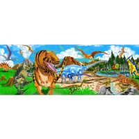 Melissa Doug Land Of Dinosaurs Floor Puzzle 48