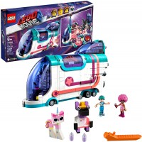Lego The Lego Movie 2 Pop Up Party Bus 70828 Building Kit Build Your Own Toy Party Bus For 9 Girls