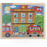 Ryans World Fire Rescue 24 Piece Wooden Jigsaw