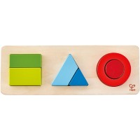 Odyssey Toys Hape Geometry Puzzle 10 Pieces Multicolor 5 X