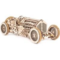 Ugears Mechanical Models 3D Wooden Puzzle Mechanical U9 Grand Prix