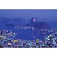 Rio De Janeiro Brazil 1000 Piece